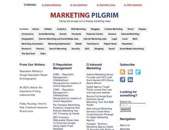 Thumbshot of Marketingpilgrim.com