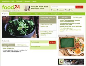 Thumbshot of Food24.com