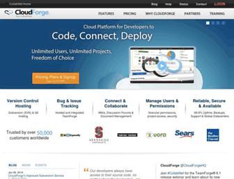Thumbshot of Cloudforge.com