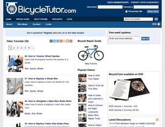 Thumbshot of Bicycletutor.com