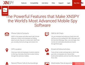 xnspy.com screenshot