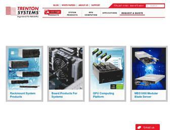 trentonsystems.com screenshot