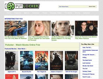 putlockers.fm screenshot