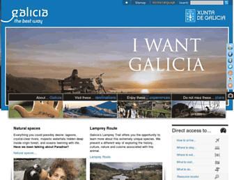 turgalicia.es screenshot