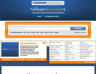 Thumbshot of Namenwinkel.nl
