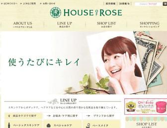 Thumbshot of Houseofrose.co.jp
