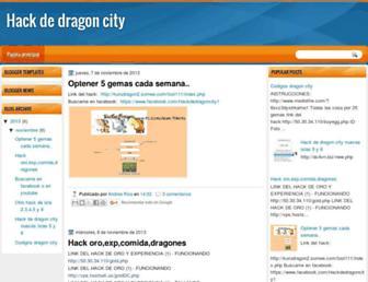 hackdedragoncity1.blogspot.com screenshot