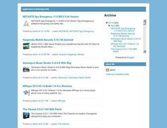 applicationmonitoringtools.blogspot.com screenshot