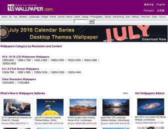 10wallpaper.com screenshot