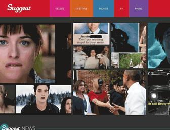 suggest.com screenshot