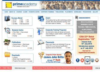 primeacademy.com screenshot