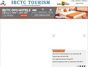 irctctourism.com screenshot