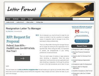 Thumbshot of Letterformat.net