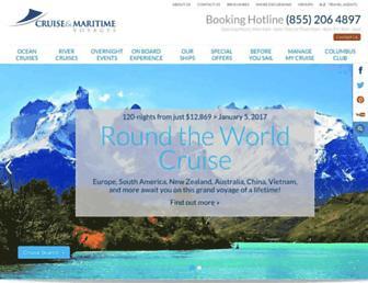 Fullscreen thumbnail of cruiseandmaritime.com