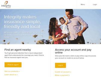 integrityinsurance.com screenshot
