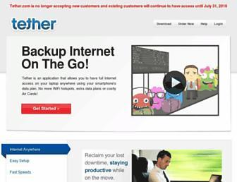 Thumbshot of Tether.com