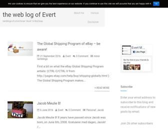 evert.meulie.net screenshot