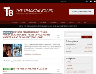 Thumbshot of Tracking-board.com