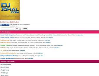 djjohal.com screenshot