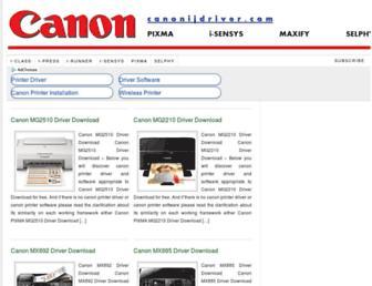 canonijdriver.com screenshot