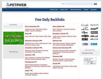 Thumbshot of Petrweb.info