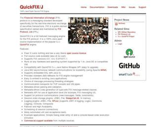 Screenshot for quickfixj.org