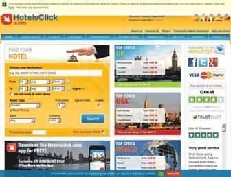 hotelsclick.com screenshot
