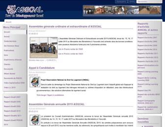 assoal.org screenshot