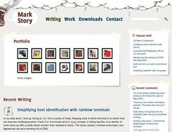 Thumbshot of Mark-story.com