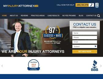 myinjuryattorney.com screenshot