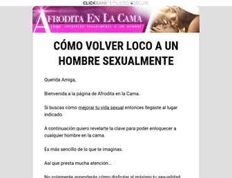 afroditaenlacama.com screenshot