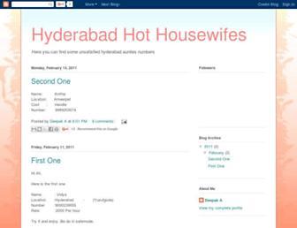 hyderabadhousewifes.blogspot.com screenshot