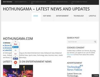 Thumbshot of Hothungama.com