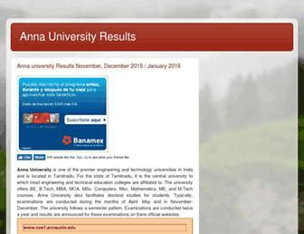 Thumbshot of Annauniversityresults.net