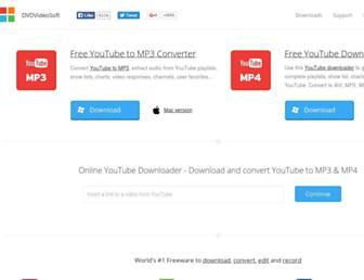 dvdvideosoft.com screenshot