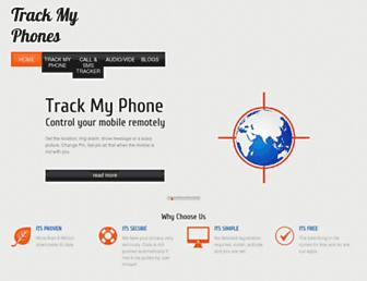 trackmyphones.com screenshot