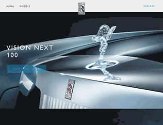 rolls-roycemotorcars.com screenshot