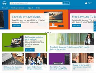 dell.com screenshot