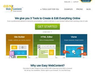 easywebcontent.com screenshot