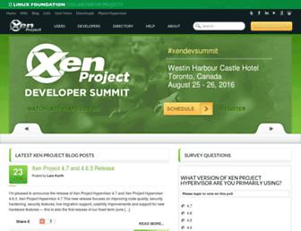 Thumbshot of Xen.org