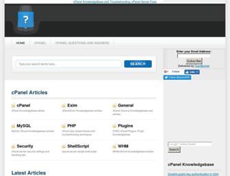 Thumbshot of Cpanelkb.net