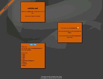celinio.net screenshot