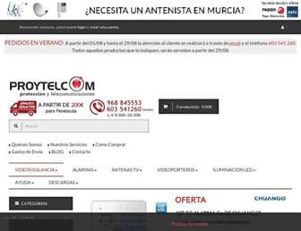 proytelcom.es screenshot