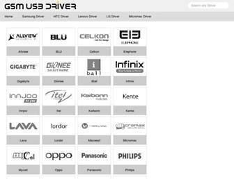gsmusbdriver.com screenshot