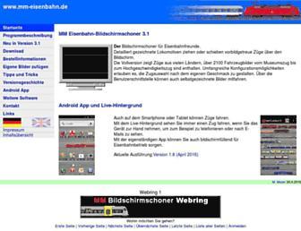 mm-eisenbahn.de screenshot