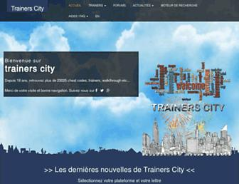 trainerscity.com screenshot