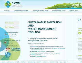 sswm.info screenshot