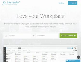 humanity.com screenshot