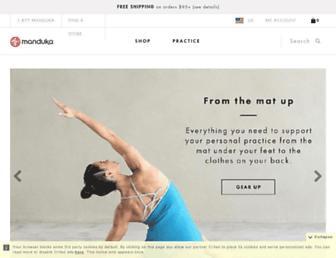 Thumbshot of Manduka.com