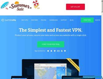 safervpn.com screenshot
